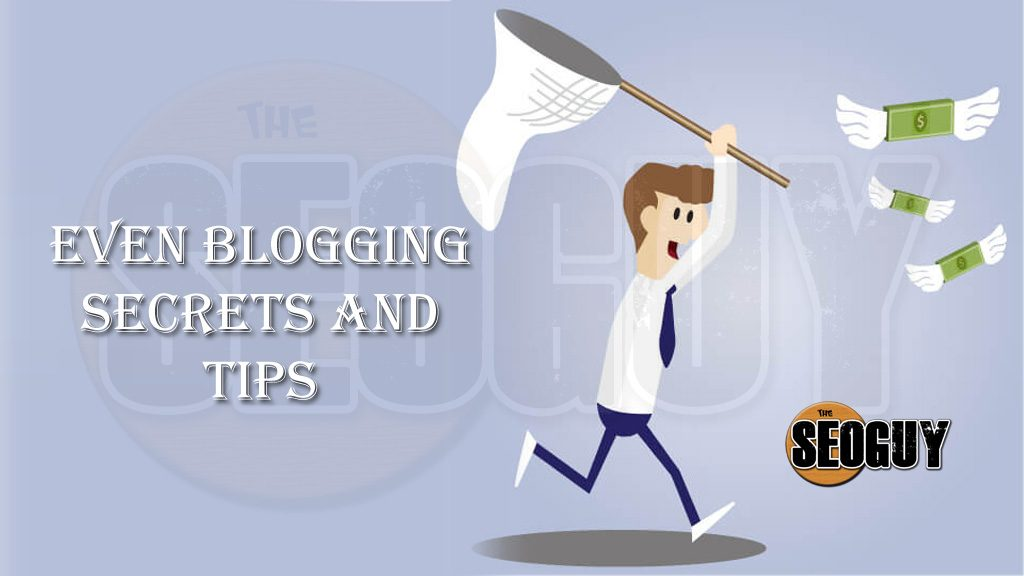 Event Blogging Secrets and Tips