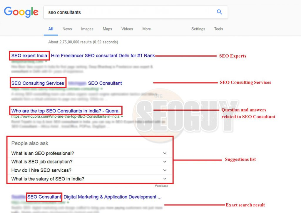 seo consultants relative search