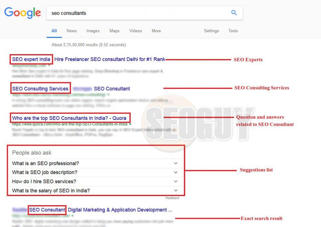 seo consultants relative search
