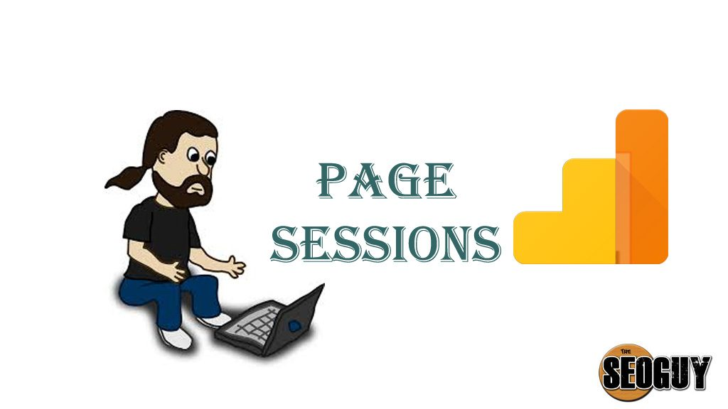Page sessions in google analytics