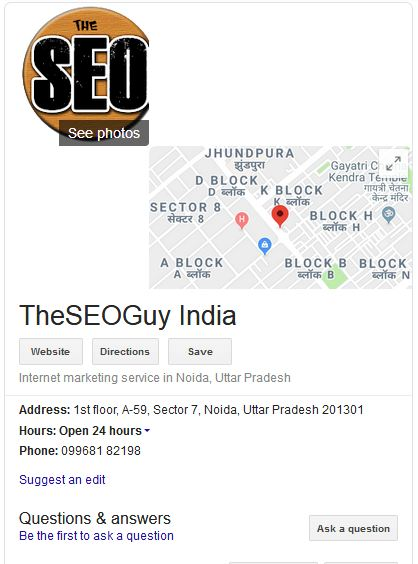 Business listing Theseoguy