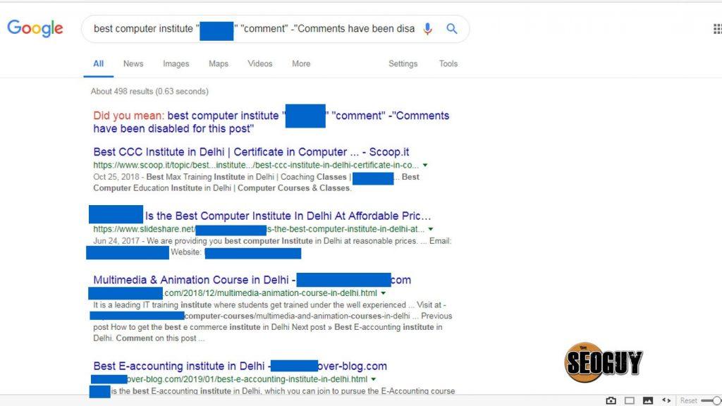 competitor backlinks method 1