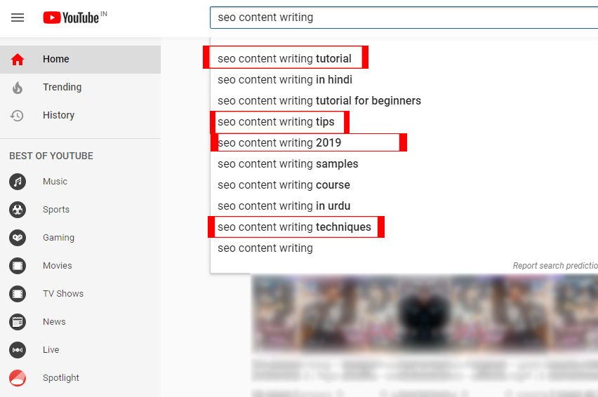seo content writing suggestive keywords 3