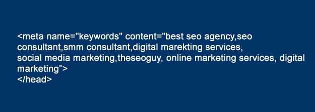 meta keywords example