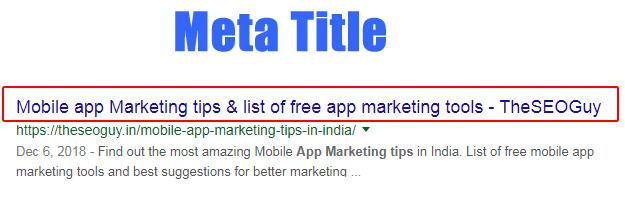 meta title example