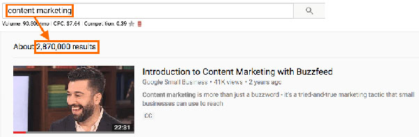 content marketing competition example