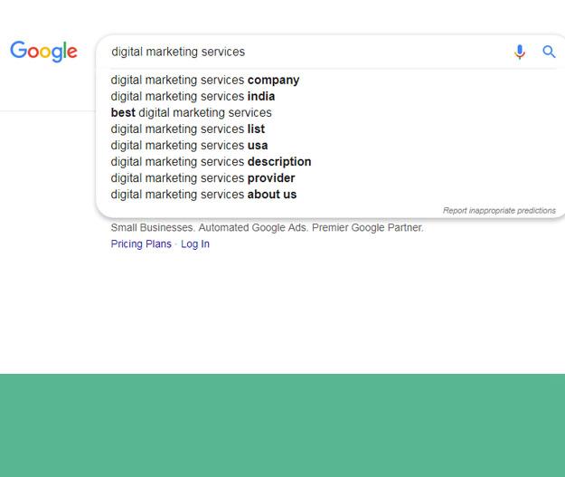 google keywords