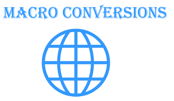 macro conversions