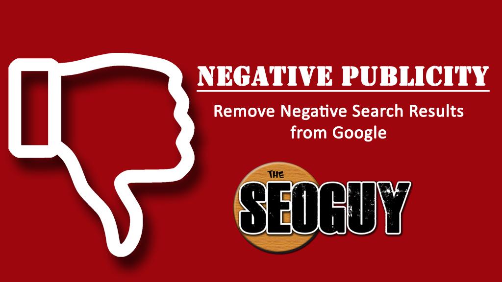 negative publicity