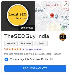 local seo services example by TheSEOGuy